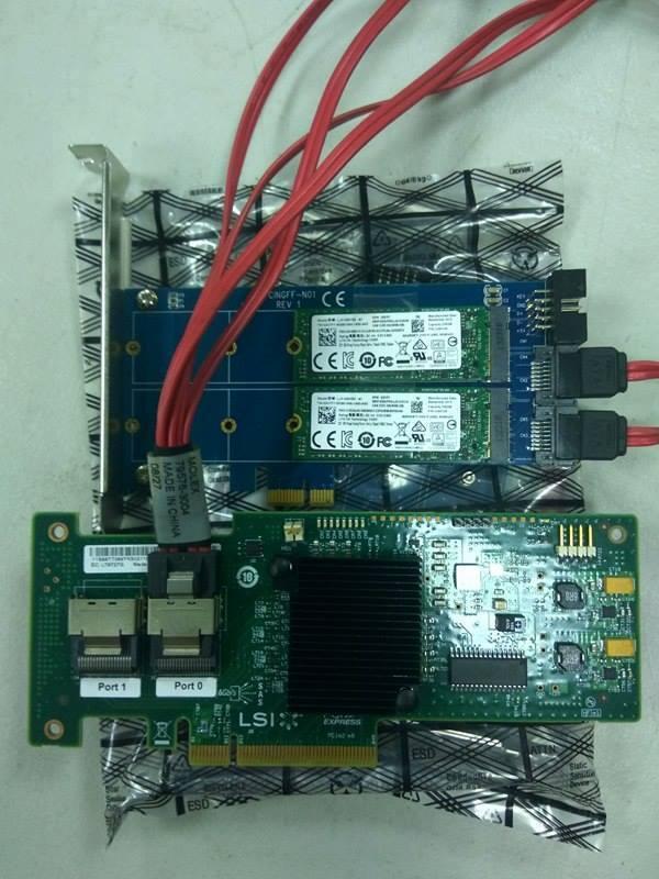 Lsisas 2008 SAS SATA儲存控制器效能極限測試