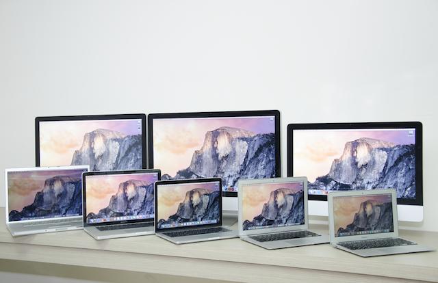 Mac總表