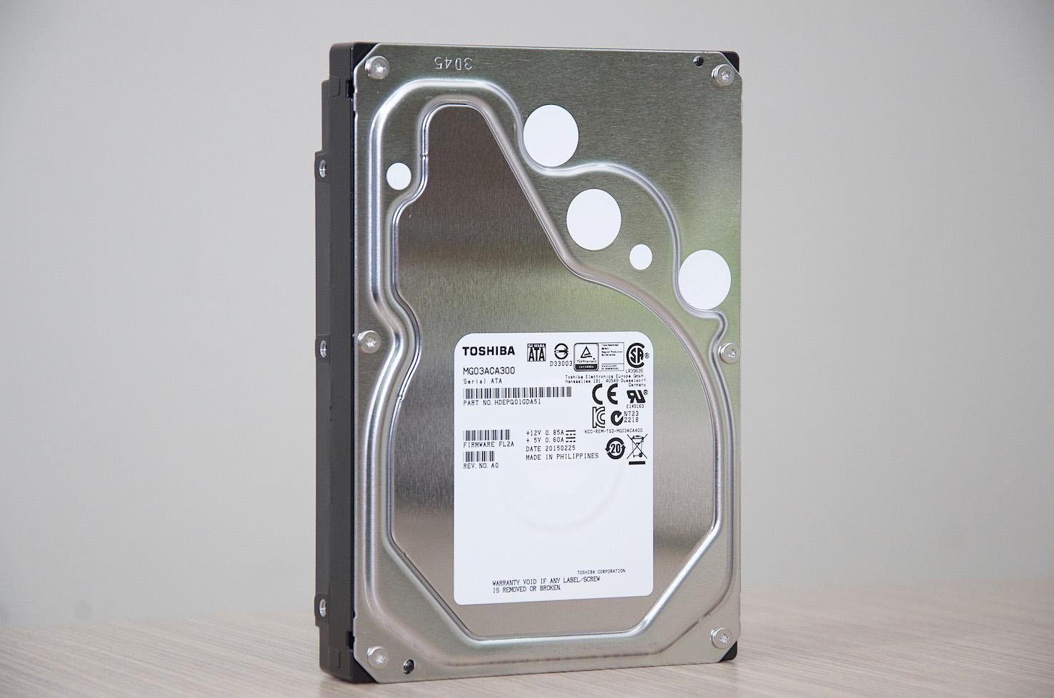 全新TOSHIBA 3.5吋 SATAIII 3TB 7200轉 企業級硬碟 – MG03ACA300(已售完)