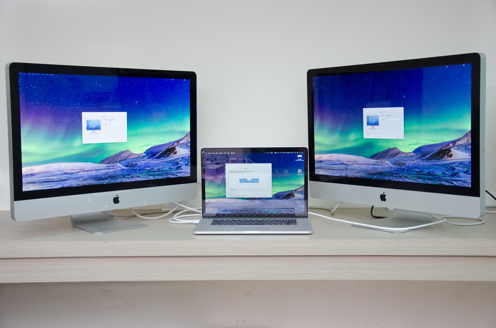 實測 iMac 目標顯示器模式
