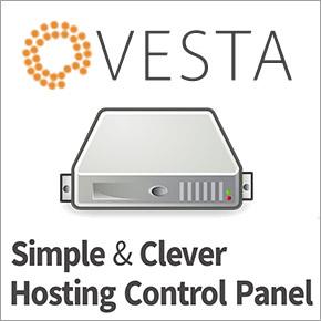 網站管理 Vesta: Hosting 網站管理介面安裝過程