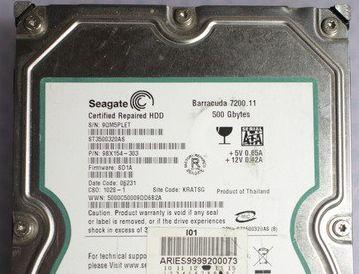 Seagate磁頭損壞救援案例與電路版交換清單