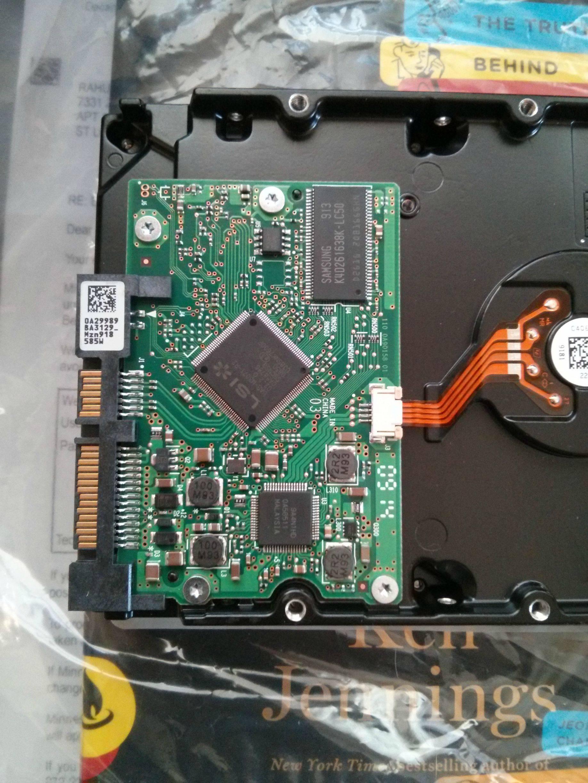 Hitachi PCB ,Firmware硬碟匹配