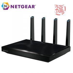 福利品 Netgear 夜鷹X8 Nighthawk R8500 11ac 5300M WIFI無線寬頻分享器