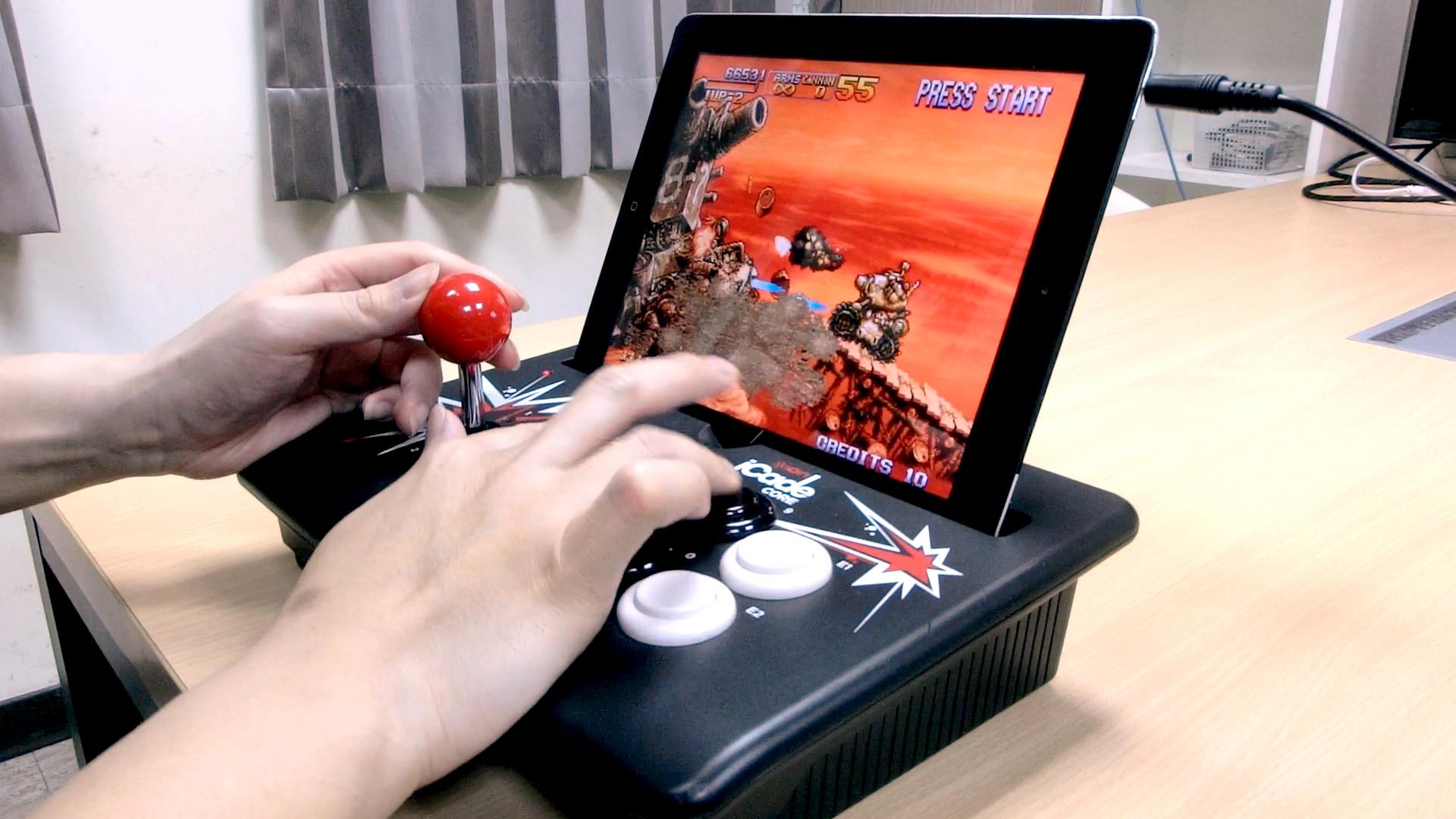 來用iPad+街機搖桿iCade玩模擬器遊戲吧!