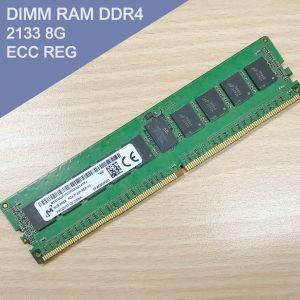 DIMM RAM DDR4 2133 8G ECC REG 伺服器專用記憶體 (Micron)