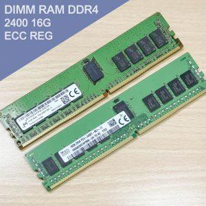 DIMM RAM DDR4 2400 16G ECC REG 伺服器專用記憶體 (Micron / SKhynix)
