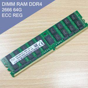 DIMM RAM DDR4 2666 64G ECC REG 伺服器專用記憶體 (SKhynix-拆機全新品)