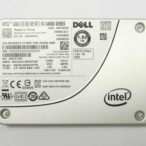 [SERVER加購專區] Intel 企業級 2.5吋 TLC SSD S4600 – 1.92TB