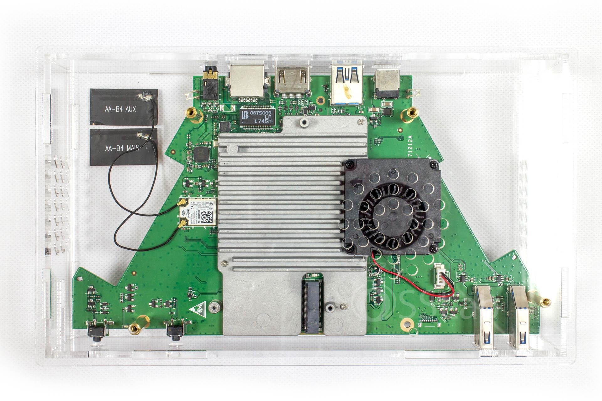 銳角雲應用(二) 更換壓克力外殼與上BIOS電池