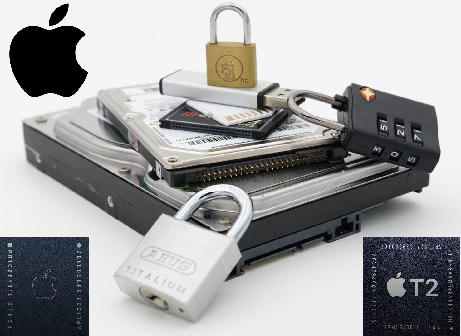 2016年後含T1/T2安全晶片的Mac Onboard SSD資料救援與數位鑑識
